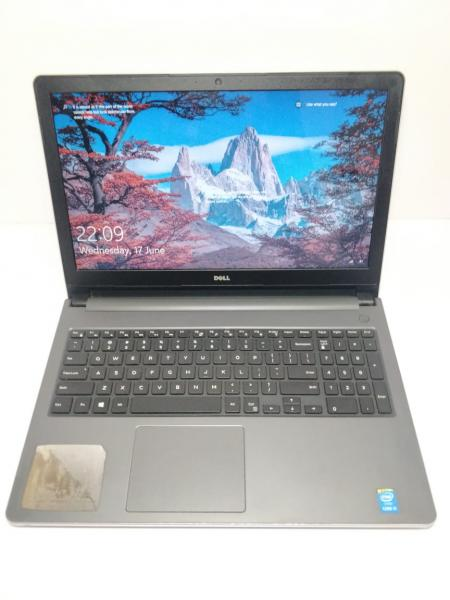 DELL INSPIRON 5558 SILVER COLOUR/ INTEL I5-5TH GEN/8 GB RAM / 1 TB HDD/ 15.6 INCHES L.E.D/ NUMLOCK KEYBOARD USED LAPTOP